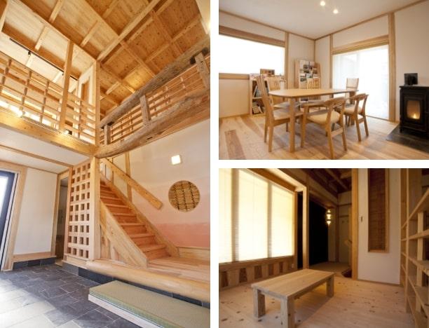 みたちの家(モデルハウス)<自然素材×伝統構法×デザイン>